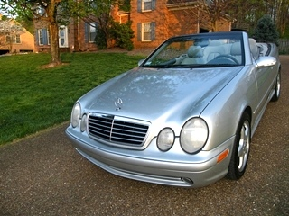 2003 Mercedes Benz CLK Convertible